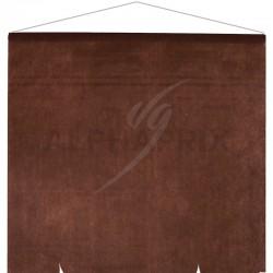 Tenture décorative de salle CHOCOLAT en stock