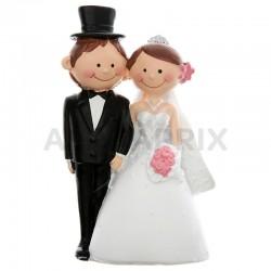 Figurine Mr Mrs PM H. 10cm en stock