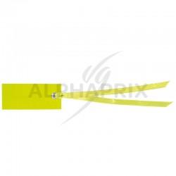 Marque-places rectangle et ruban VERT par 12 en stock