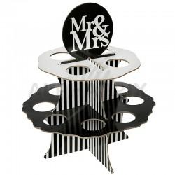 Présentoir Mr & Mrs (12 emplacements) en stock
