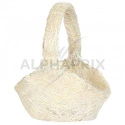 Panier en sisal NATUREL en stock