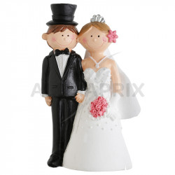 Figurine Mr Mrs GM H. 15cm en stock