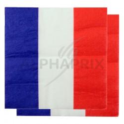 Serviettes de table France par 20