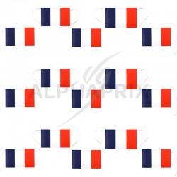 Banderole de 15 drapeaux français en stock