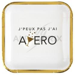 Assiettes APERO Party par 10 en stock