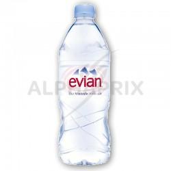 Evian Pet 1L en stock