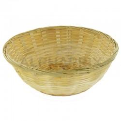 Corbeille bambou ronde diam. 23x8