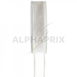 Ruban 9mm Cristal BLANC - la bobine de 25 mètres en stock