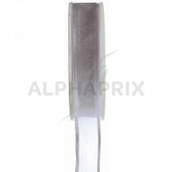 Ruban 9mm Cristal GRIS - la bobine de 25 mètres en stock