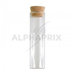 Eprouvettes en verre 15cm par 24 en stock
