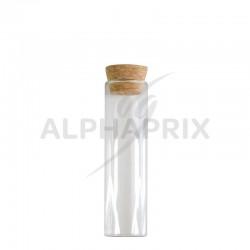 Eprouvettes en verre 12cm par 24 en stock