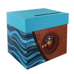 Urne / Tirelire PIRATE 20,50 x 23 x 20,50cm en stock
