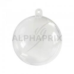 Boules transparentes en plexi 5CM par 20 en stock