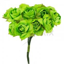 Roses sur tige VERT - le bouquet en stock