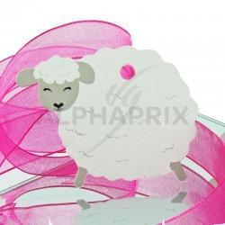 Etiquettes perforées Mouton par 4 en stock