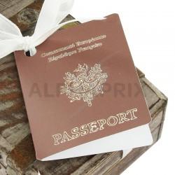 Etiquettes perforées Passeport par 2 en stock