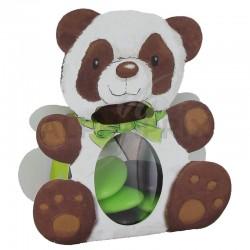 Ballotins Panda avec ruban par 25 en stock