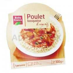 Barquettes poulet basquaise 300g Belle France