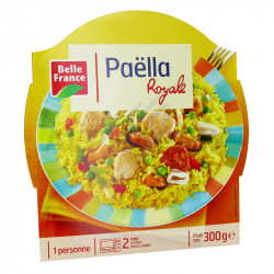 Barquettes paella royale 300g Belle France