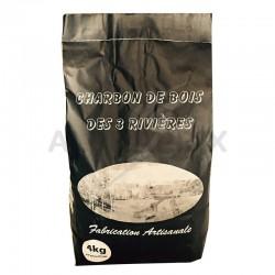Charbon de bois sac noir 4kg en stock