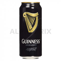 Guinness boîte 50 cl biere brune irlandaise