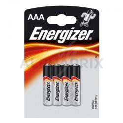 Piles energizer alcaline lr03 blister de 4 en stock