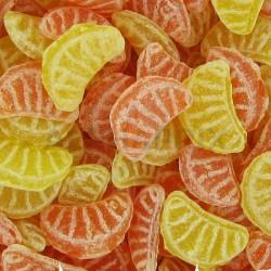 Quartiers oranges citrons kg en stock