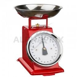Balance mécanique 5kg - Ogoliving rouge en stock