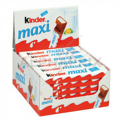 Kinder Maxi Tablettes T1 en stock