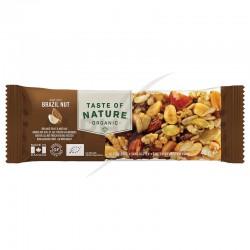 ~Taste of Nature noix du Brésil barres Bio 40g en stock