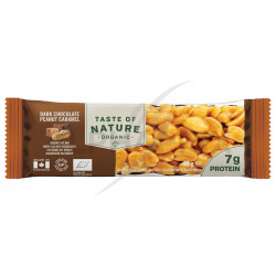 Taste of Nature chocolat cacahuètes barres Bio 40g