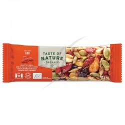 Taste of Nature Goji barres Bio 40g en stock