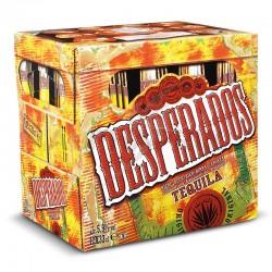 Desperados tequila pack de 12 bouteilles 33cl VP