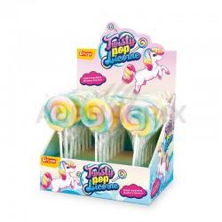 Sucettes Twisty Pop Licorne en boîte présentoir