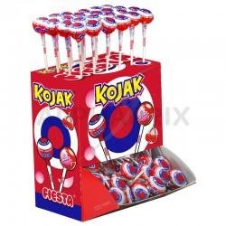 Sucettes Kojak gum Cerises Fiesta en stock