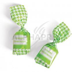 Bonbons fourrés à la liqueur de Chartreuse en stock
