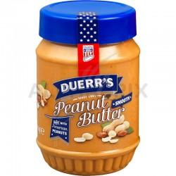 Beurre de cacahuètes duerr's sans morceaux 340g