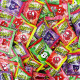 Crack ups pétillants aux fruits - 100 sachets