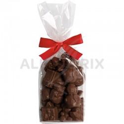 Fritures de Noël fourrées praliné assorties en stock