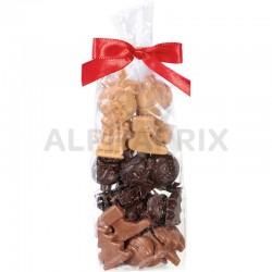 Fritures de Noël chocolats assortis (qualité patissière) en stock