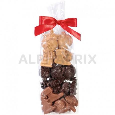 Fritures de Noël chocolats assortis (qualité patissière)