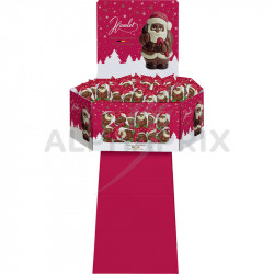 Présentoir 100 Figurines Noël assorties 50g en stock