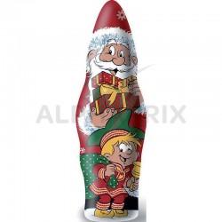 ~Pères Noël chocolat au lait sous alu 100g