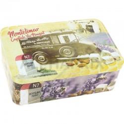Boîte à Sucre Nougats de Montélimar tendres 400g en stock