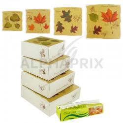 Colis douceurs d'automne kit boîtes patissieres en stock