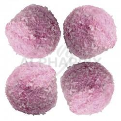 Boules coco guimauve roses 750g