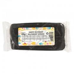 Fondant déco pâte à sucre NOIR - 250g en stock