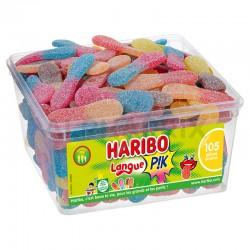 Haribo Tubo de 105 Langues acides Pik