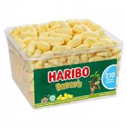 Haribo Tubo de 210 Banans (Bams) en stock