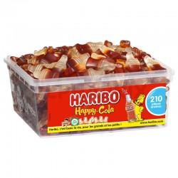 Haribo Tubo de 210 Happy Cola lisse